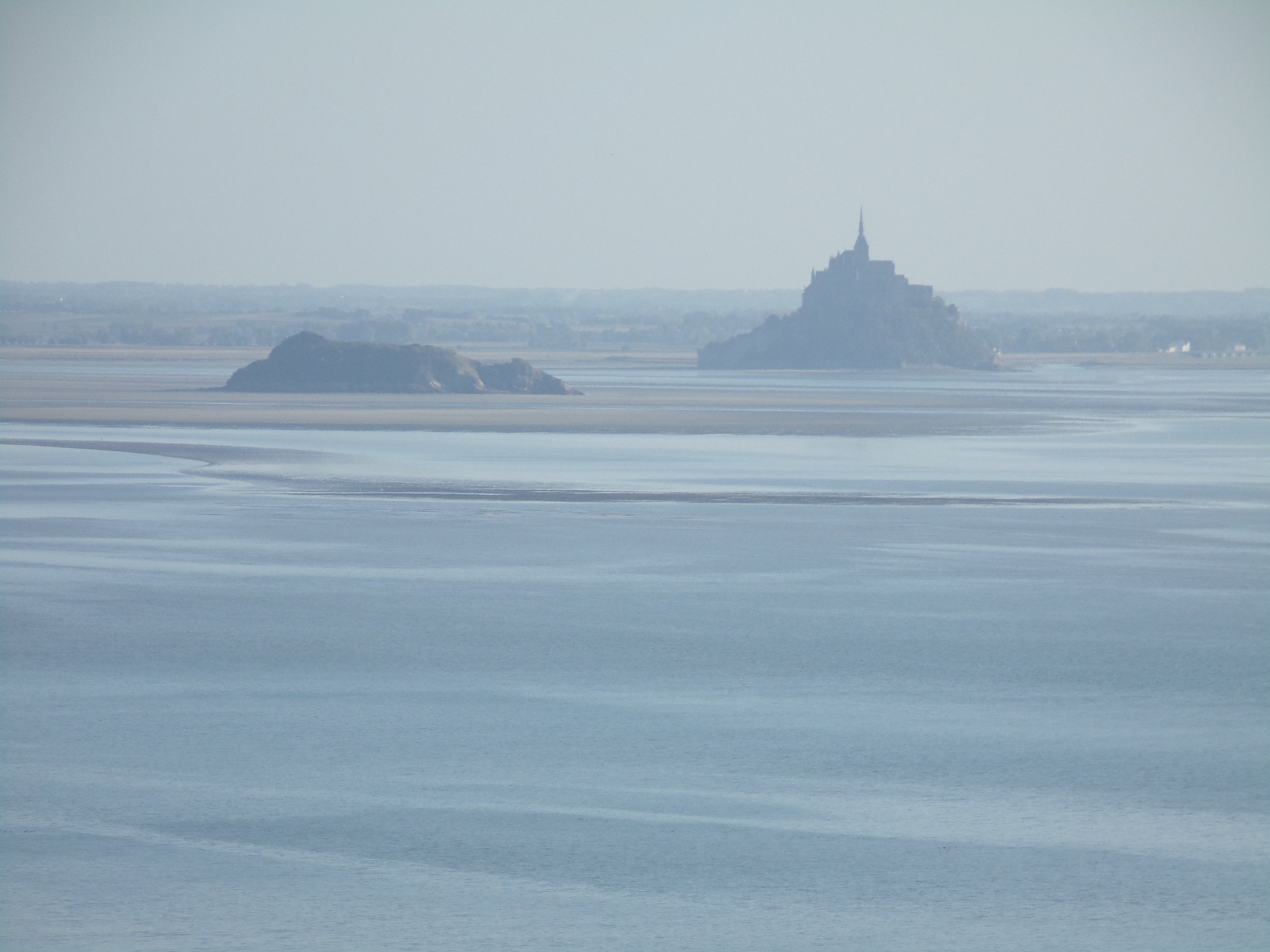 View of Le Mont St. Michel
