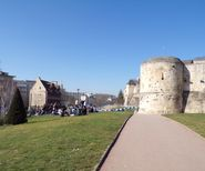 Caen - the castle