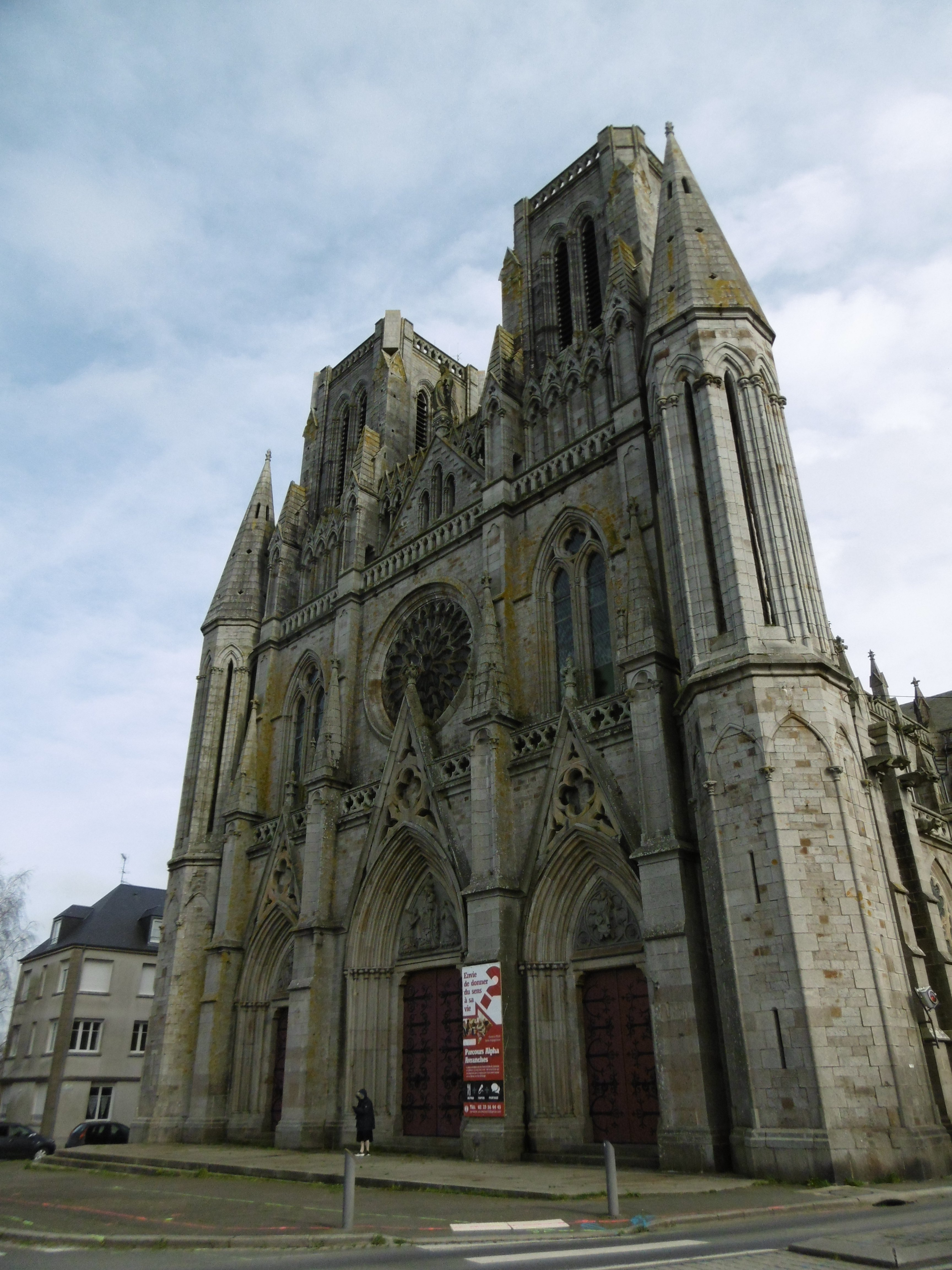 Avranches cathedral