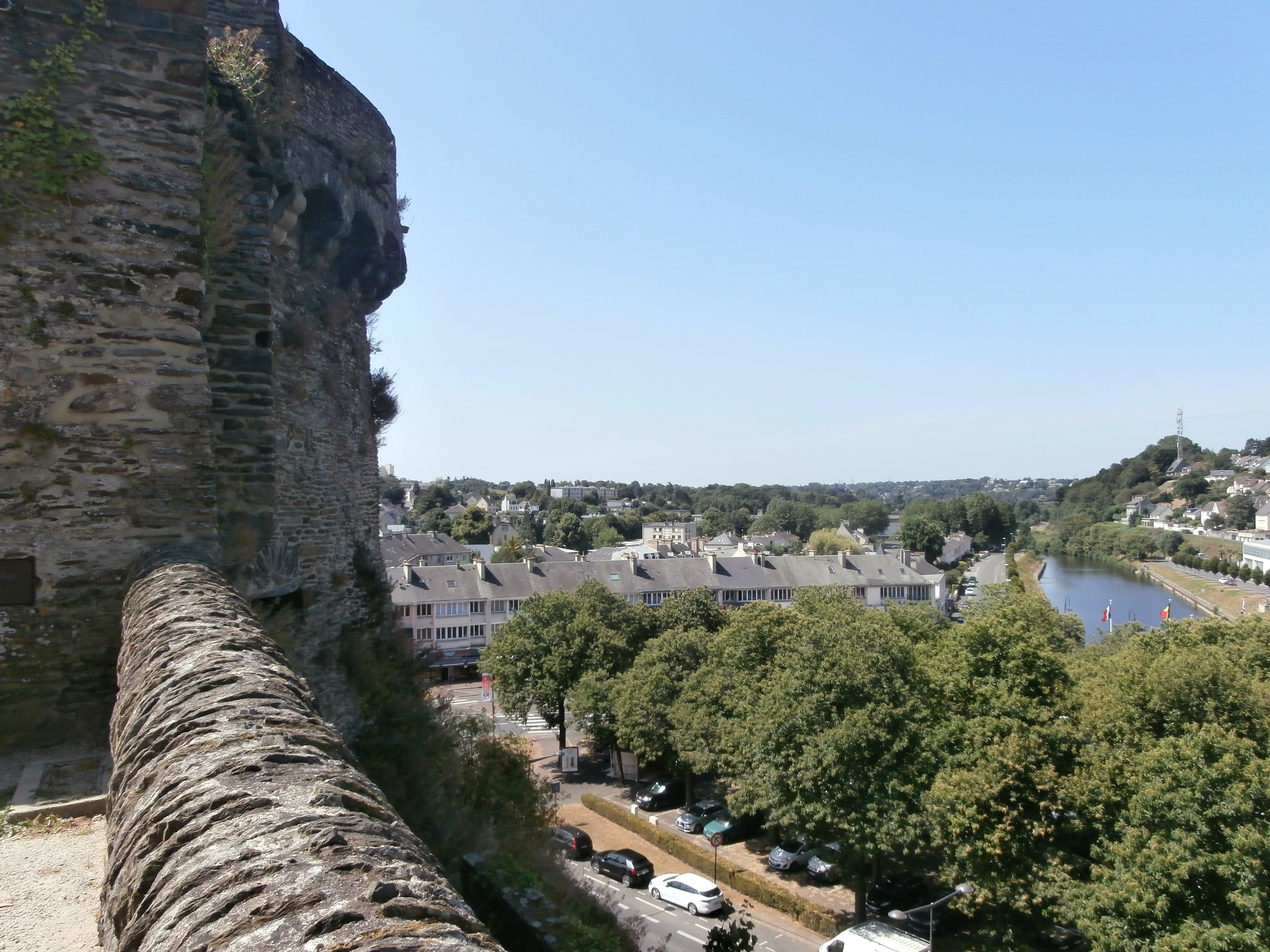 View from the city walls